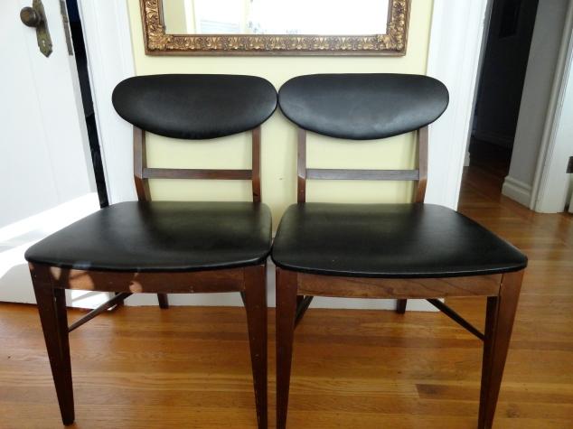 Diy Reuholstering Mid Century Chairs Joules Jewels Vintage